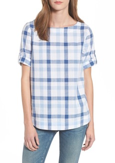 Barbour Malin Relaxed Fit Popover Top