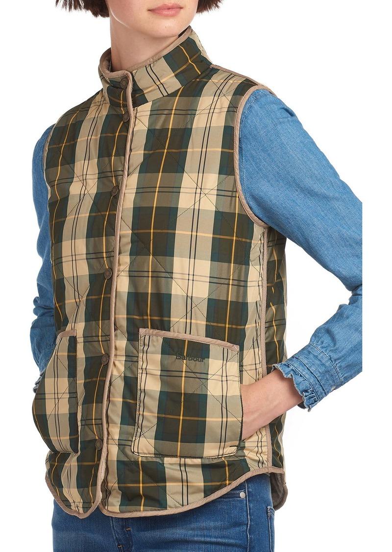 Barbour Mayapple Quilted Plaid Gilet Vest