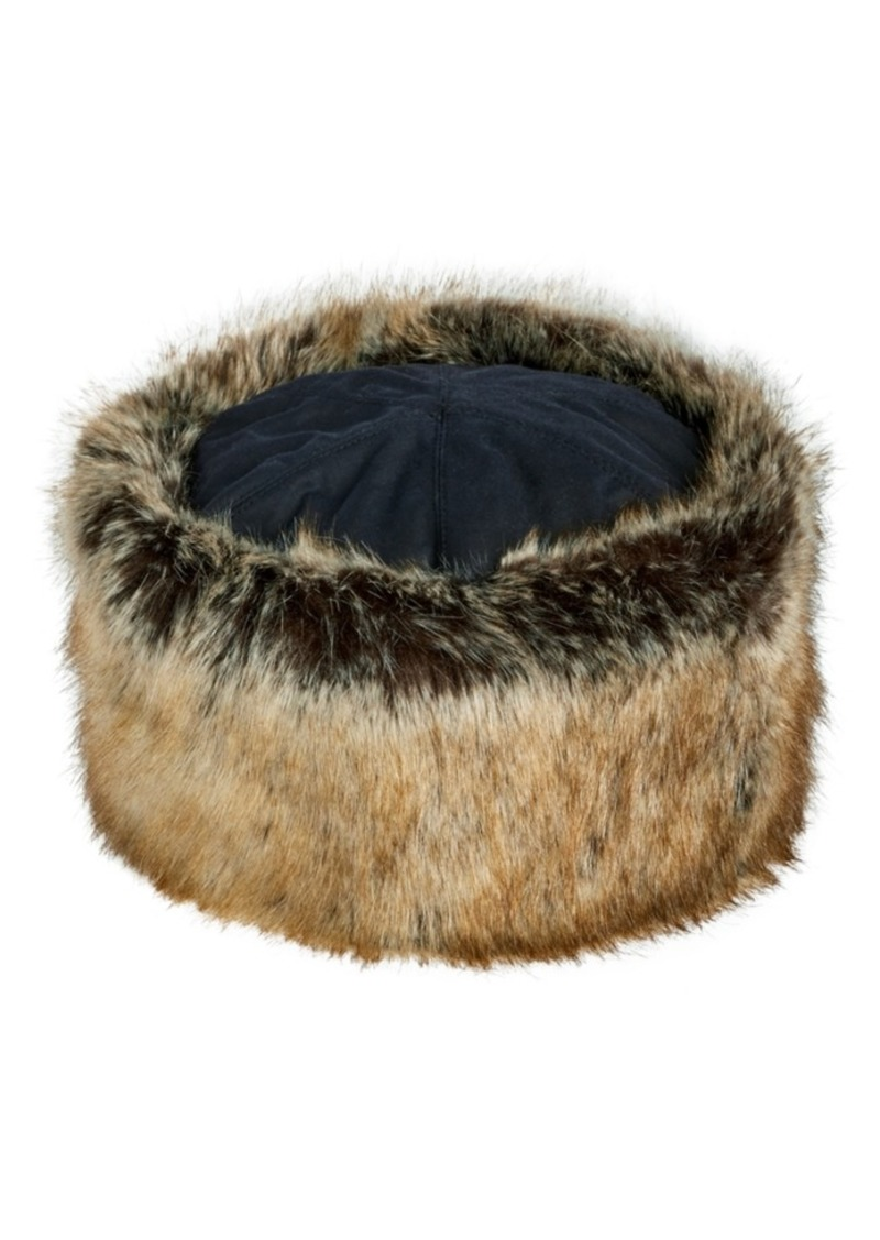 Barbour Men's Ambush Faux-Fur Hat