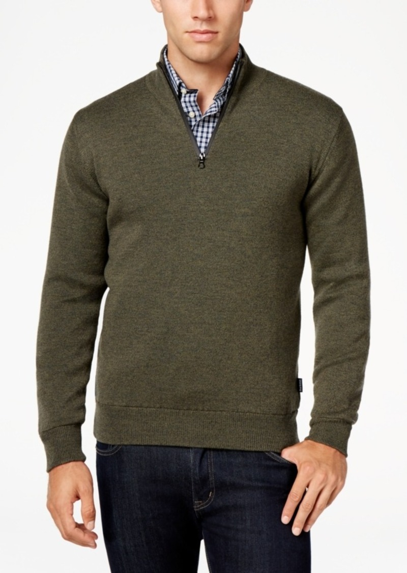 Barbour Men's Becket Quarter-Zip Sweater