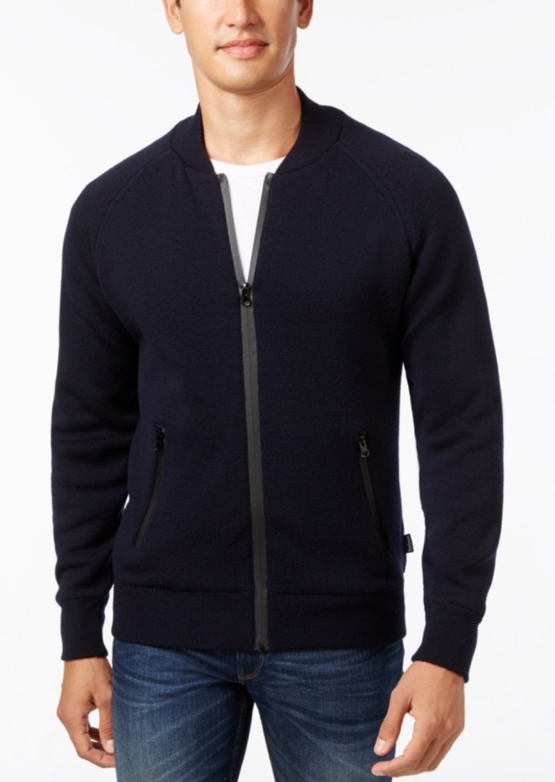 Barbour Men's Becket Zip-Through Cardigan Sweater