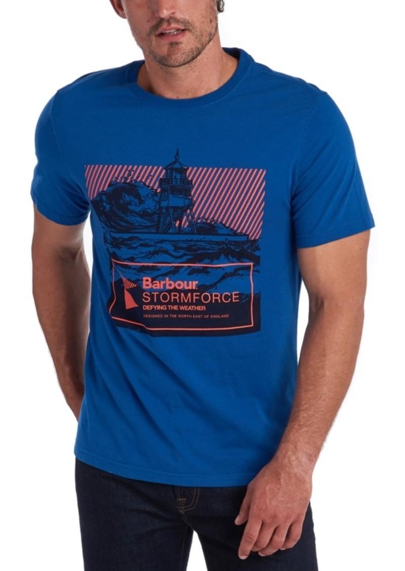 Barbour Men's Break Stormforce Logo Graphic T-Shirt