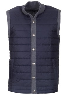 Barbour Mens Classic Fit Snap-Front Vest