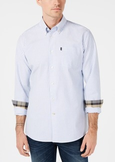 Barbour Men's Corgarff Tailored-Fit Stripe Shirt, Created for Macy's