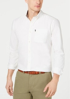 Barbour Men's Dunston Slim Fit Oxford Shirt, A Sam Heughan Exclusive, Created for Macy's