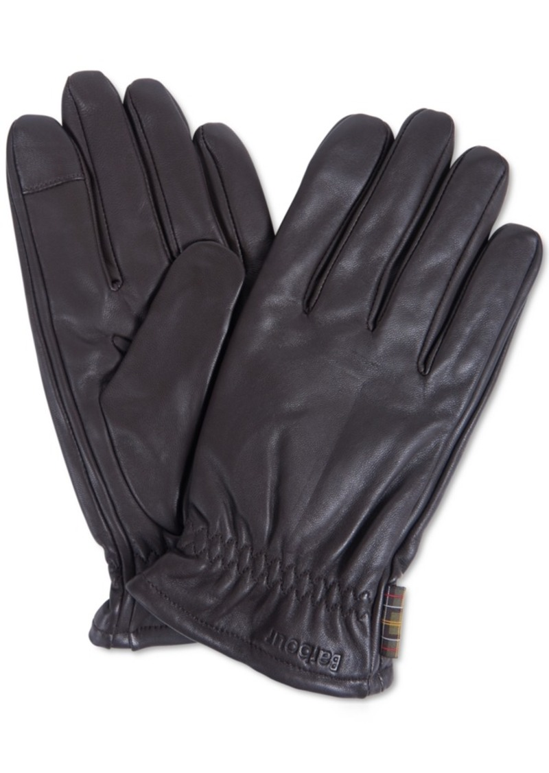 Barbour Men's Elland Leather Gloves