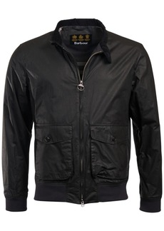 Barbour Men's Hagart Waxed-Cotton Jacket