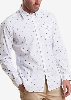 Barbour Men's Jellyfish Print Shirt