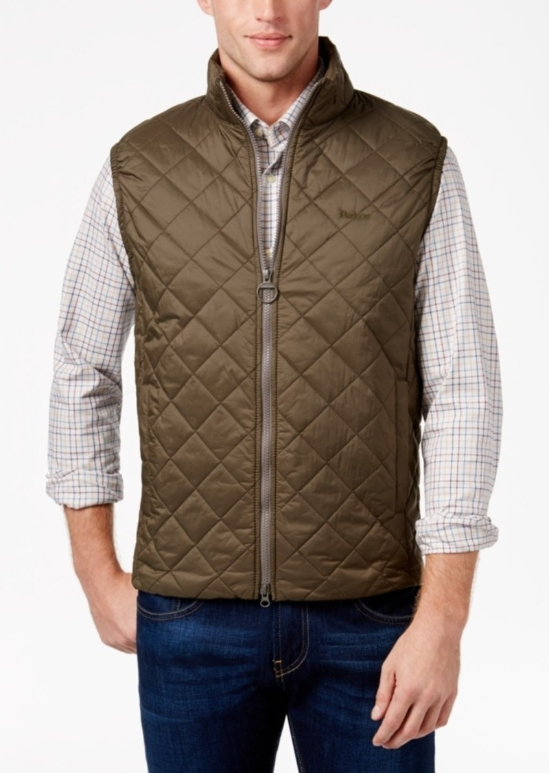 Barbour Men's Keelson Quilted Zip-Front Vest, A Star Gift Macy's Exclusive
