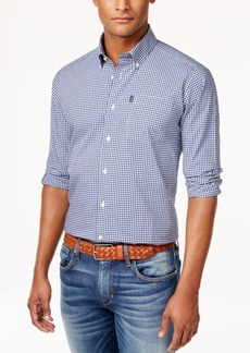 Barbour Men's Leonard Gingham Check Long-Sleeve Shirt
