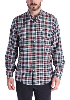 Barbour Men's Lund Classic-Fit Thermo-Tech Quick-Dry Plaid Shirt