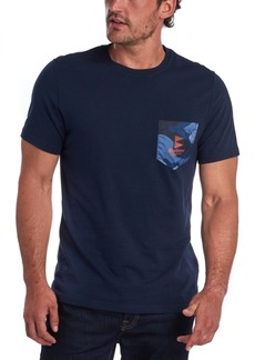 Barbour Men's Ocean Camo Pocket T-Shirt
