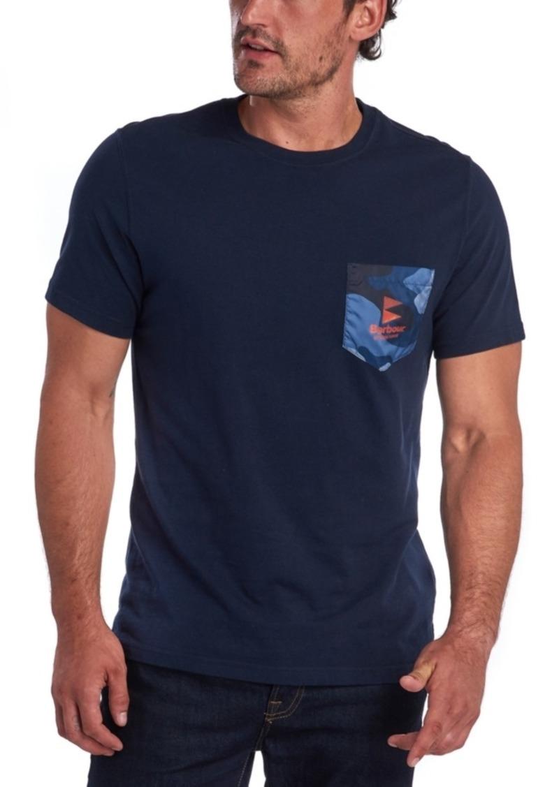 Barbour Men's Ocean Camo Pocket T-Shirt