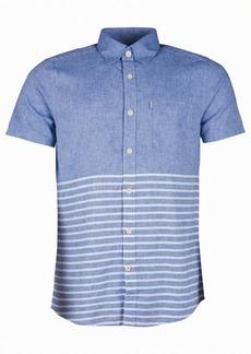 Barbour Men's Rowlock Slim-Fit Blocked Stripe Shirt