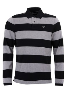 Barbour Men's Scrum Striped Long-Sleeve Polo