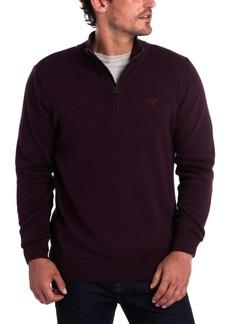 Barbour Men's Slim-Fit 1/2-Zip Sweater