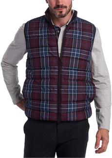 Barbour Men's Slim-Fit Tartan Gilet Vest