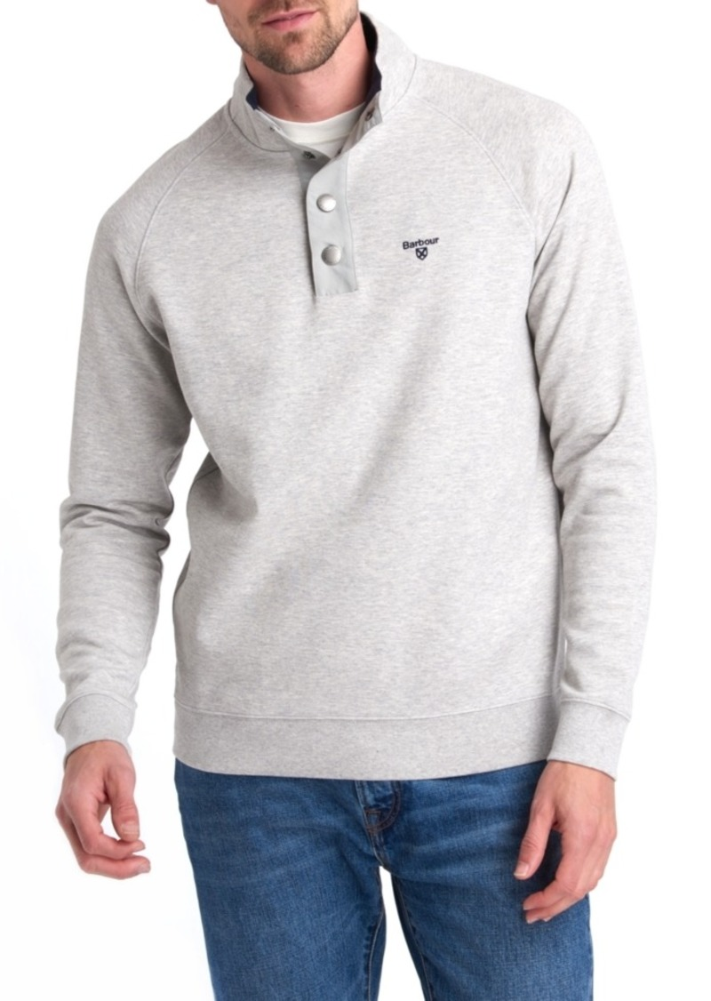 Barbour Men's Southwold Half-Snap Sweatshirt, Created for Macy's