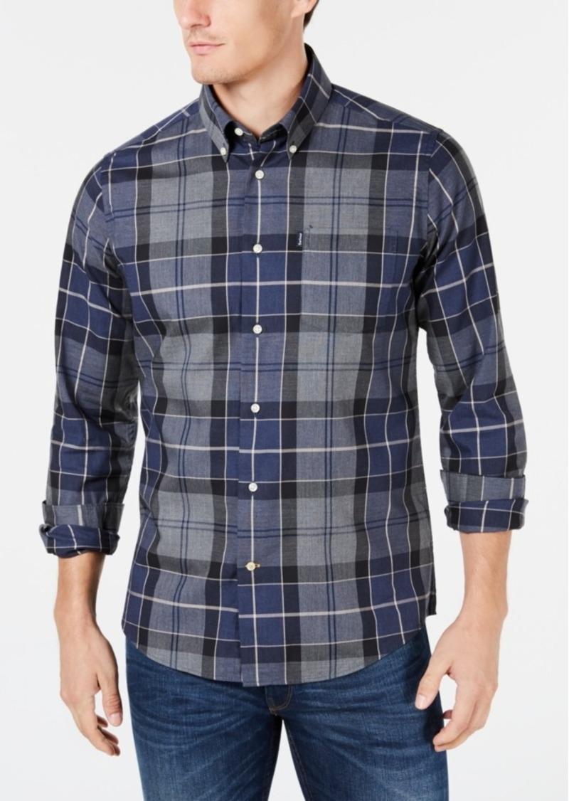 Barbour Men's Stapleton Tailored-Fit Oxford Plaid Shirt