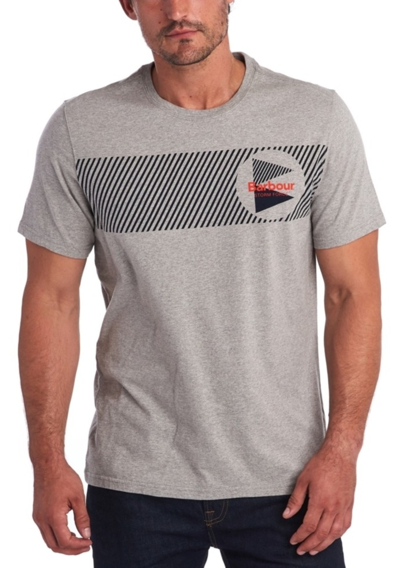 Barbour Men's Storm Force Logo Graphic T-Shirt