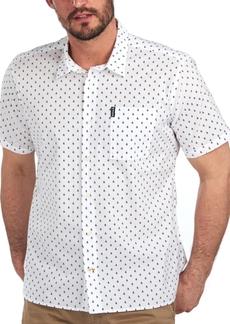 Barbour Men's Summer Print Cotton Shirt