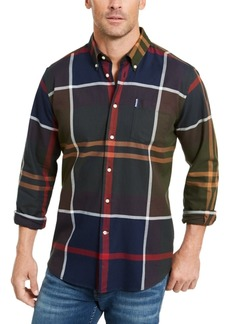 Barbour Men's Tailored-Fit Dunoon Plaid Shirt