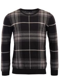 Barbour Men's Tartan-Plaid Jacquard Sweater