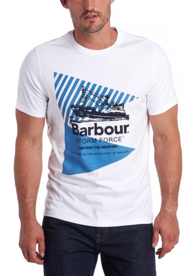 Barbour Men's Vessel Stormforce Logo Graphic T-Shirt