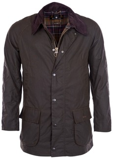 Barbour Men's Water-Resistant Waxed-Cotton Jacket