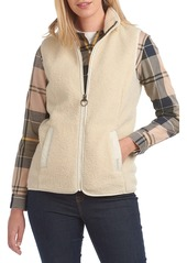 Barbour Milburn Faux Shearling Vest