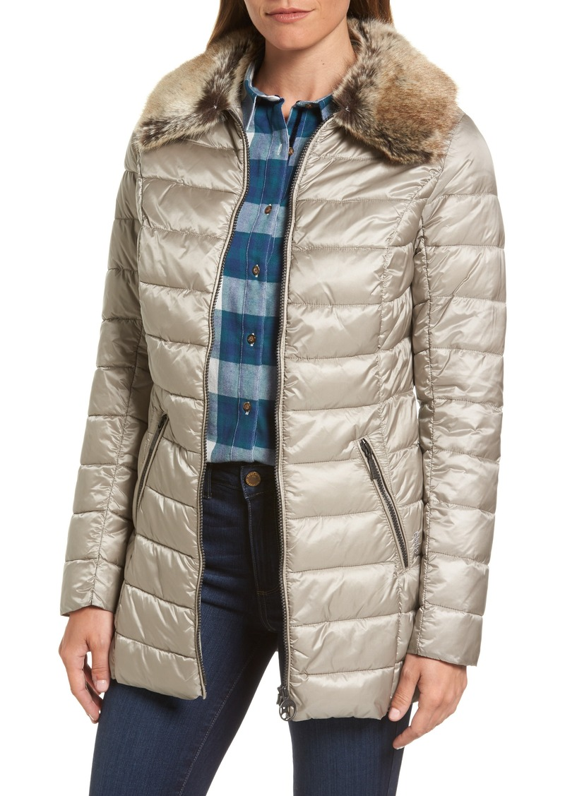 Barbour Barbour Rambleton Water Resistant Quilted Jacket With Faux