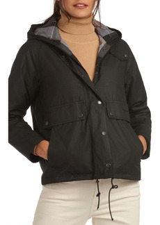 Barbour Re-engineered For Today Naver Hooded Waxed Raincoat
