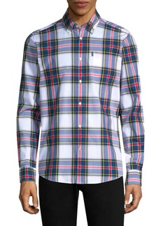 Barbour Oscar Tailored-Fit Cotton Button-Down Shirt