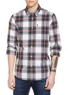 Barbour Oscar Trim Fit Plaid Sport Shirt