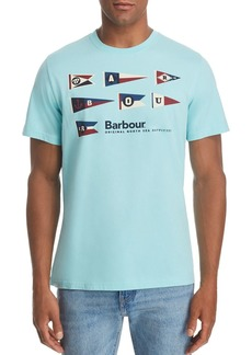 Barbour Pennant Logo Graphic Tee