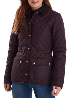 Barbour Penshaw Waxed Quilted Jacket
