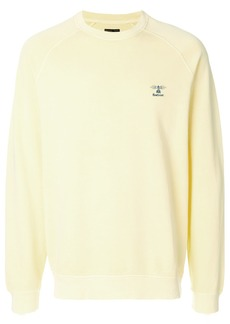 Barbour Pike sweatshirt - Yellow & Orange