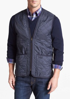 Barbour 'Polarquilt' Relaxed Fit Zip-In Liner Vest