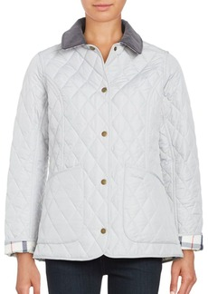Barbour Quilted Button-Front Coat