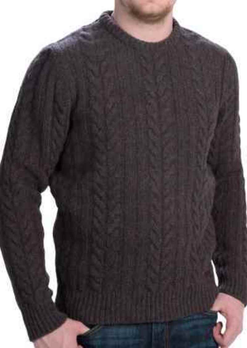 af94ccfdeb50 Barbour Barbour Rope Cable-Knit Sweater - Shetland Wool (For Men ...