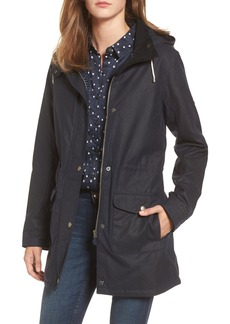Barbour Selsey Waxed Canvas Hooded Jacket