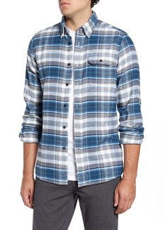 Barbour Shoreham Tailored Fit Check Button-Up Shirt