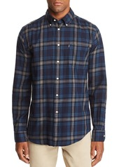 Barbour Stapleton Highland Check Tailored Fit Button-Down Shirt