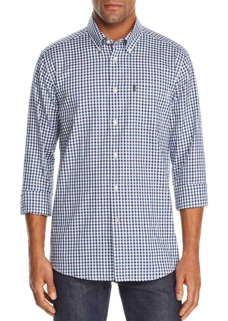 Barbour Stapleton Oxford Gingham Slim Fit Button-Down Shirt