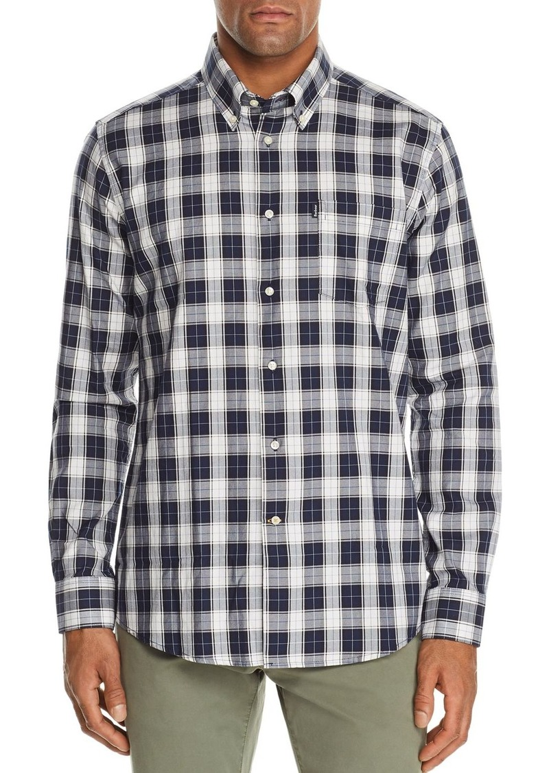 Barbour Stapleton Oxford Plaid Slim Fit Button-Down Shirt
