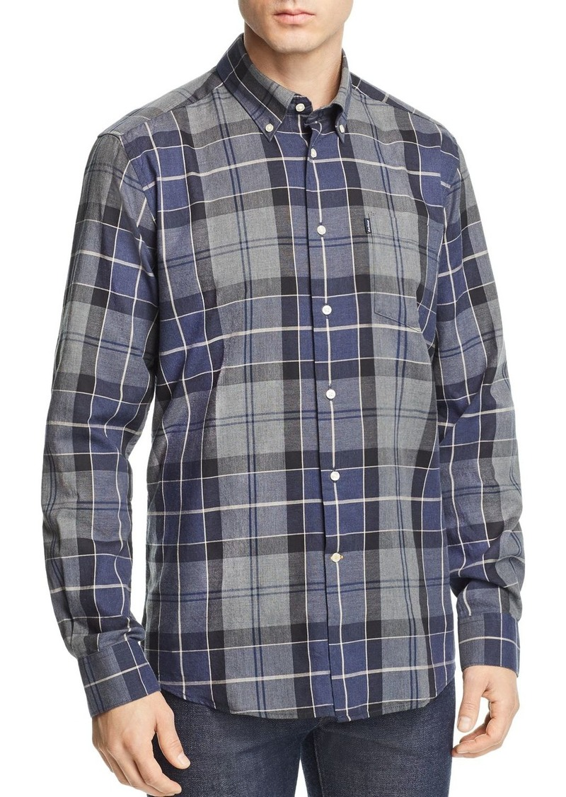 Barbour Stapleton Plaid Oxford Slim Fit Button-Down Shirt