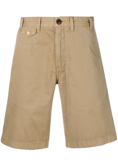 Barbour stone-washed shorts - Nude & Neutrals