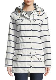 Barbour Stripe Trevose Jacket w/ Removable Hood