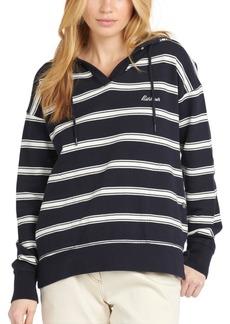 Barbour Striped Hooded Sweatshirt