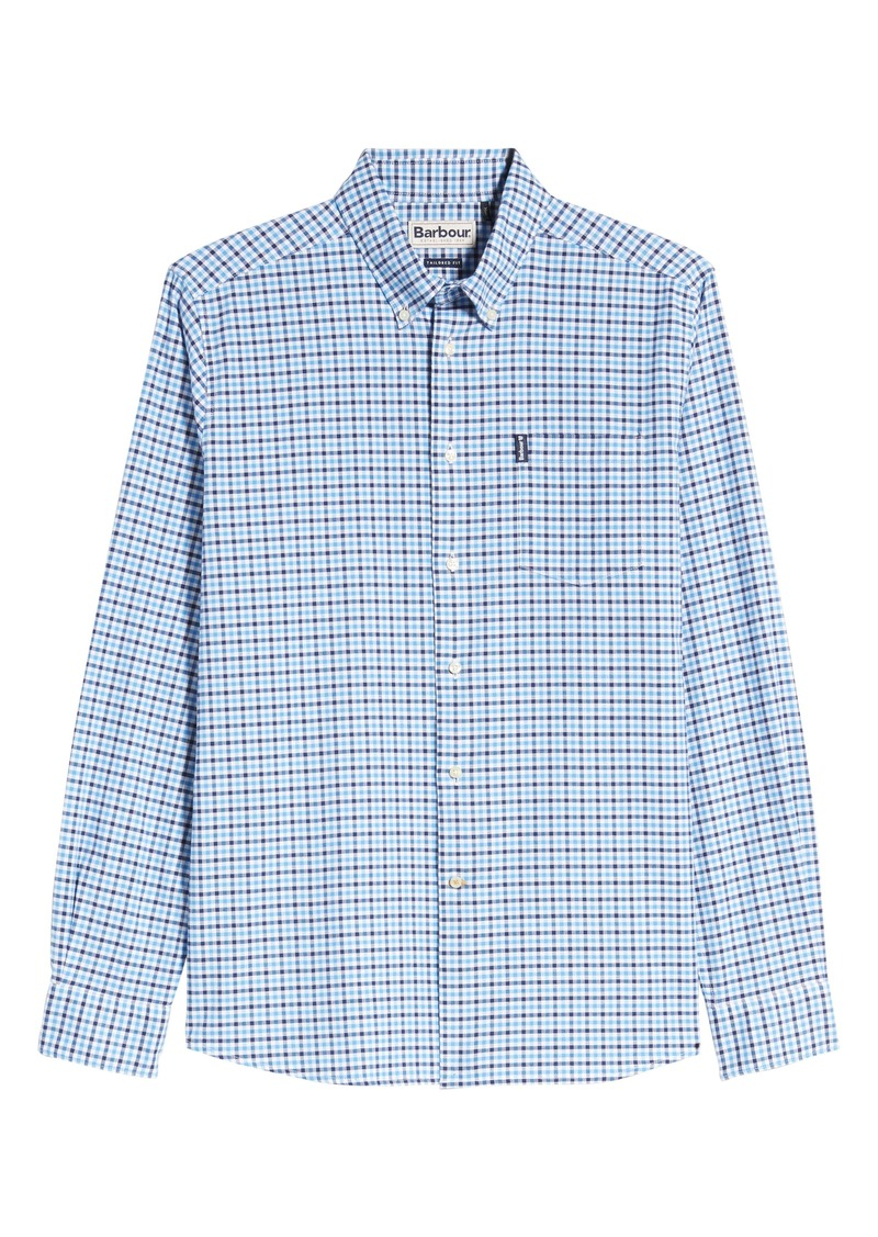 Barbour Tailored Fit Check Button-Down Shirt
